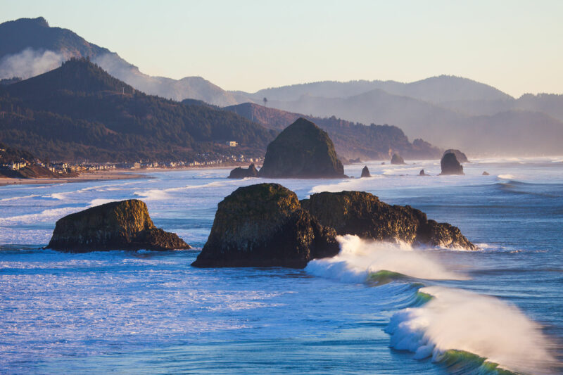 Ecola State park in Cannon Beach