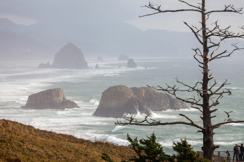Foggy day in Cannon Beach, Oregon