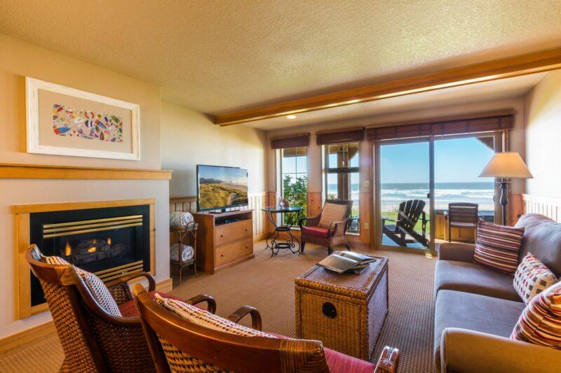 Oceanfront Queen Suite with Sofa Sleeper