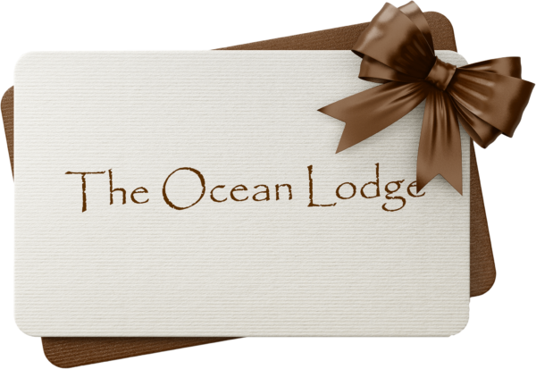 The Ocean Lodge gift card